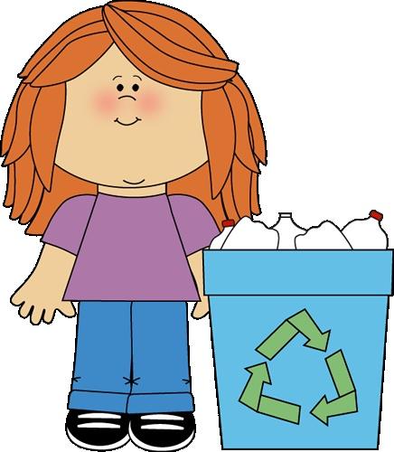 Classroom recycler | Clip art .