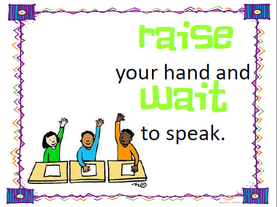 Classroom Rules Clipart
