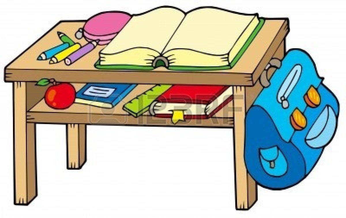 Classroom Table Clipart .