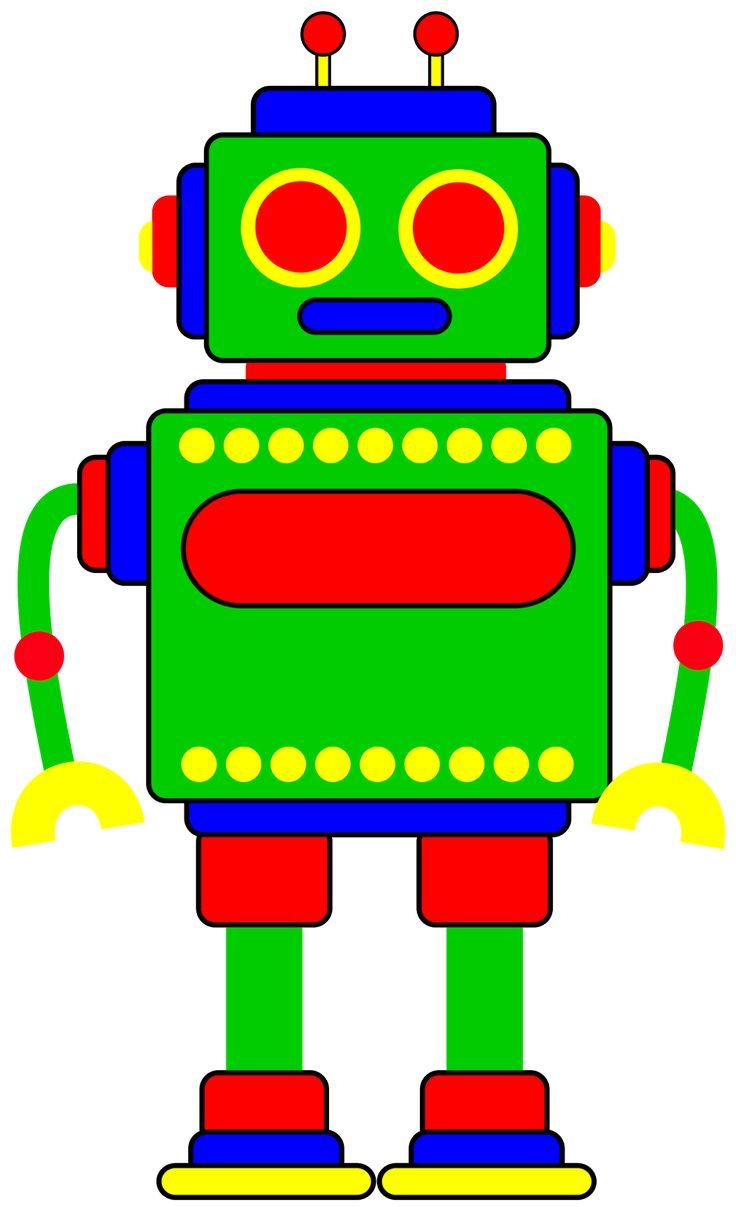 Classroom Treasures: Robot Cl - Robot Clipart