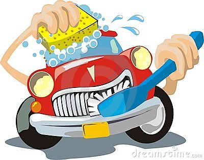 Clean Car Clipart - Clipart .