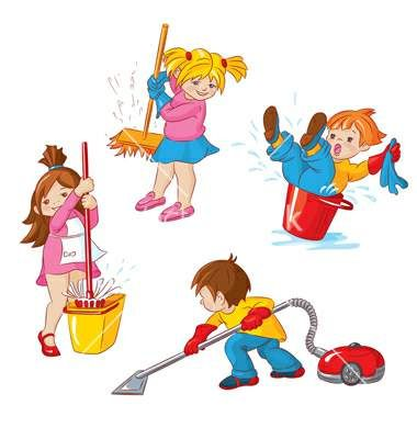 Clean playroom clipart kids .