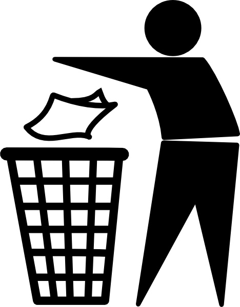 Clean Up clip art