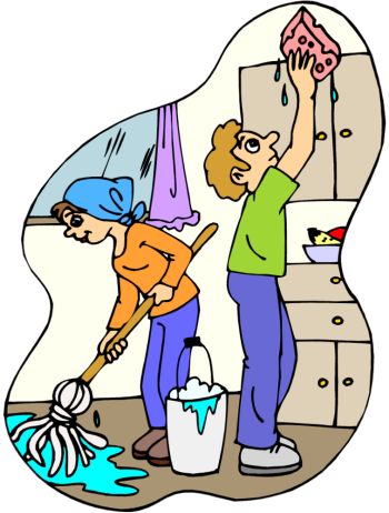 Clipart Cleaning