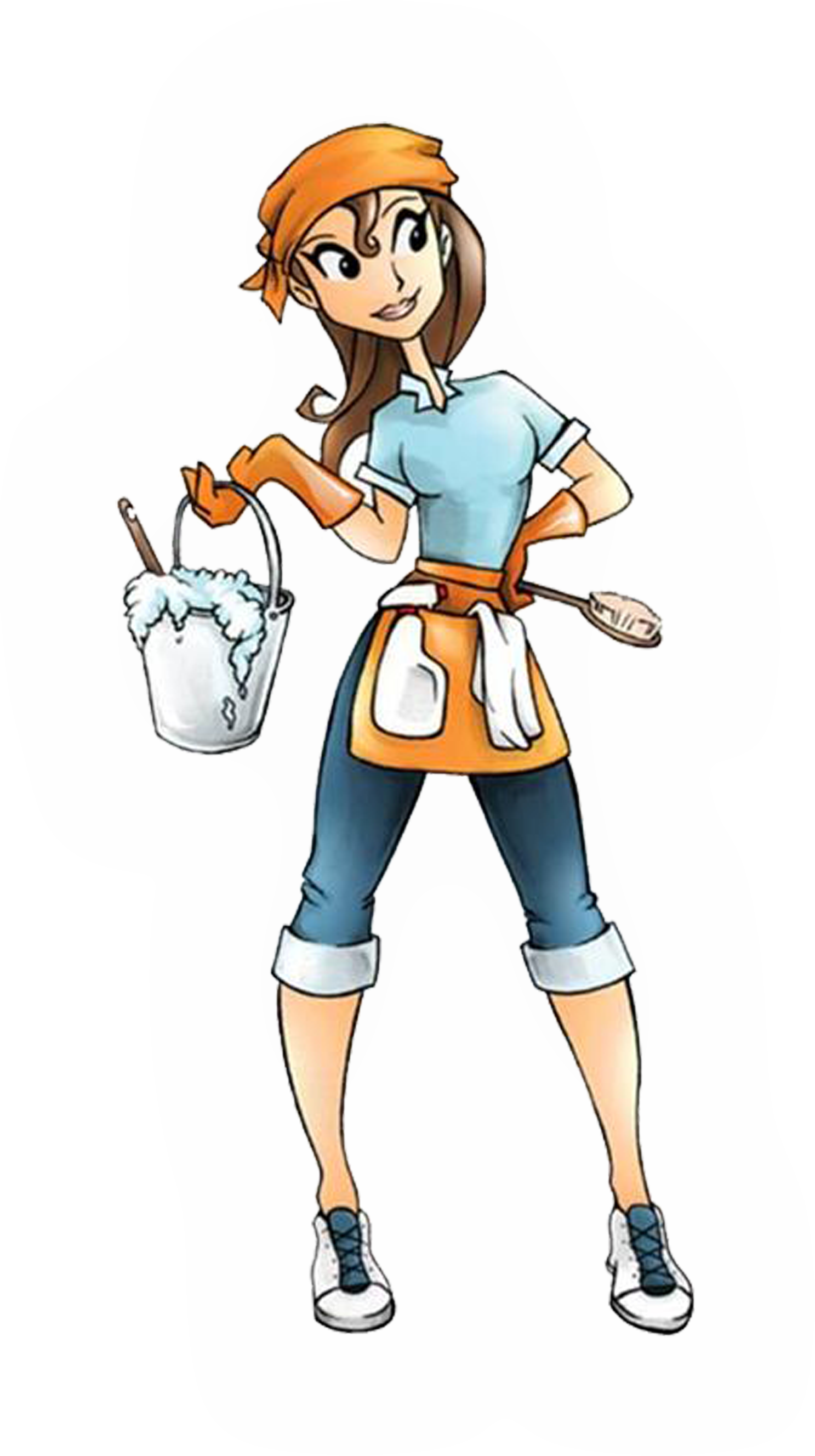 Cleaning Lady Cartoon Cliparts Co-Cleaning Lady Cartoon Cliparts Co-4