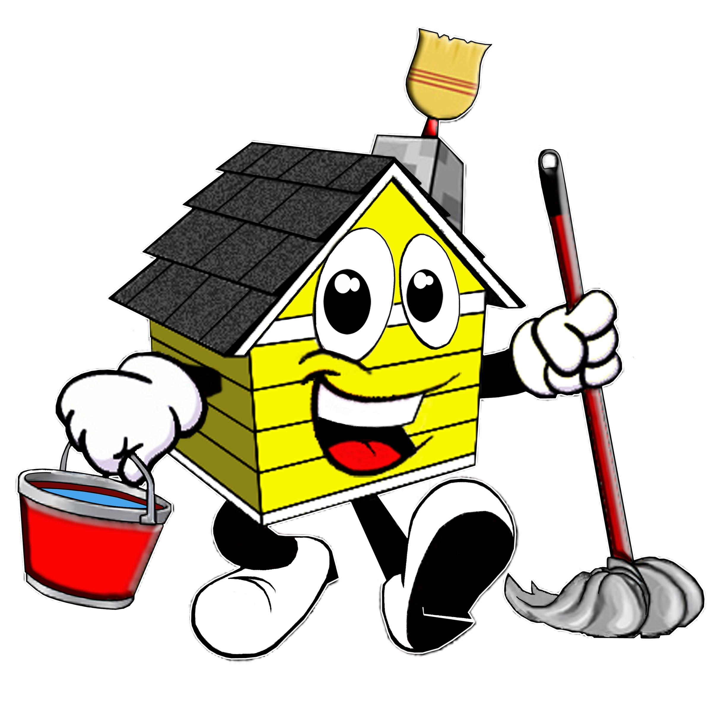 Cleaning Supplies Clipart .