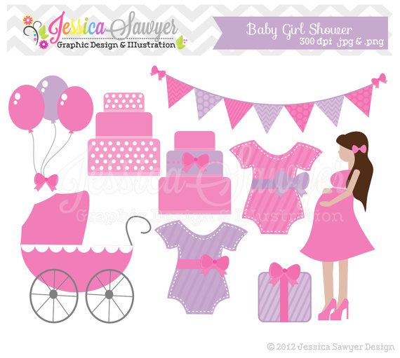 Clearance Baby Shower Clip Art ..-Clearance Baby Shower Clip Art ..-8