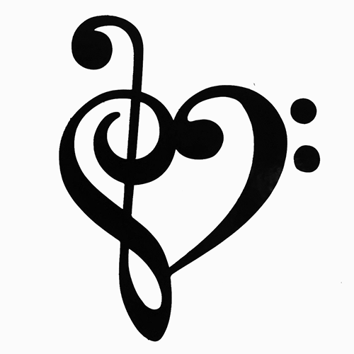 Music Notes Heart Clip Art Clipart Panda Free Clipart Images
