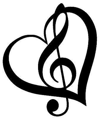Treble Clef | Music Heart, Treble . ClipartLook.com - ClipArt Best - ClipArt Best