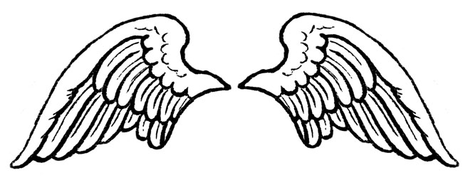 Cli Black And Angel Outline Clip Art Chr-Cli Black And Angel Outline Clip Art Christmas Angel Cli Angel Is-12