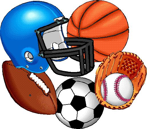Click for larger sports equipment clip art