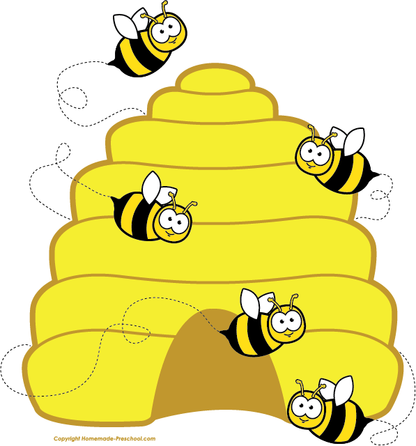 Click to Save Image - Clip Art Bee