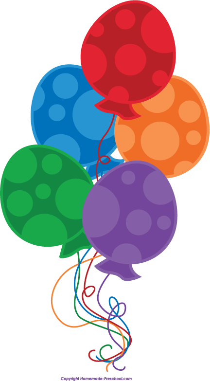 Click to Save Image - Free Clipart Balloons