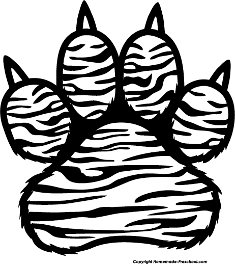 Click to Save Image. Fuzzy Paw Prints