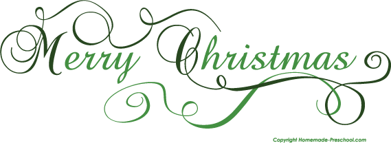 Click to Save Image - Merry Christmas Clipart