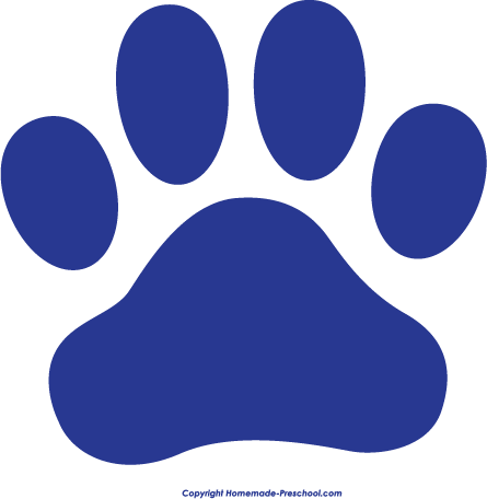 Click to Save Image. Red Paw Print