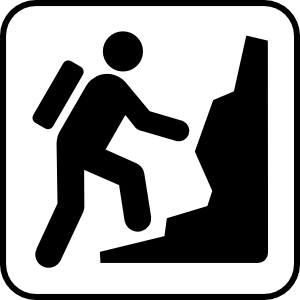 Hiker Clip Art