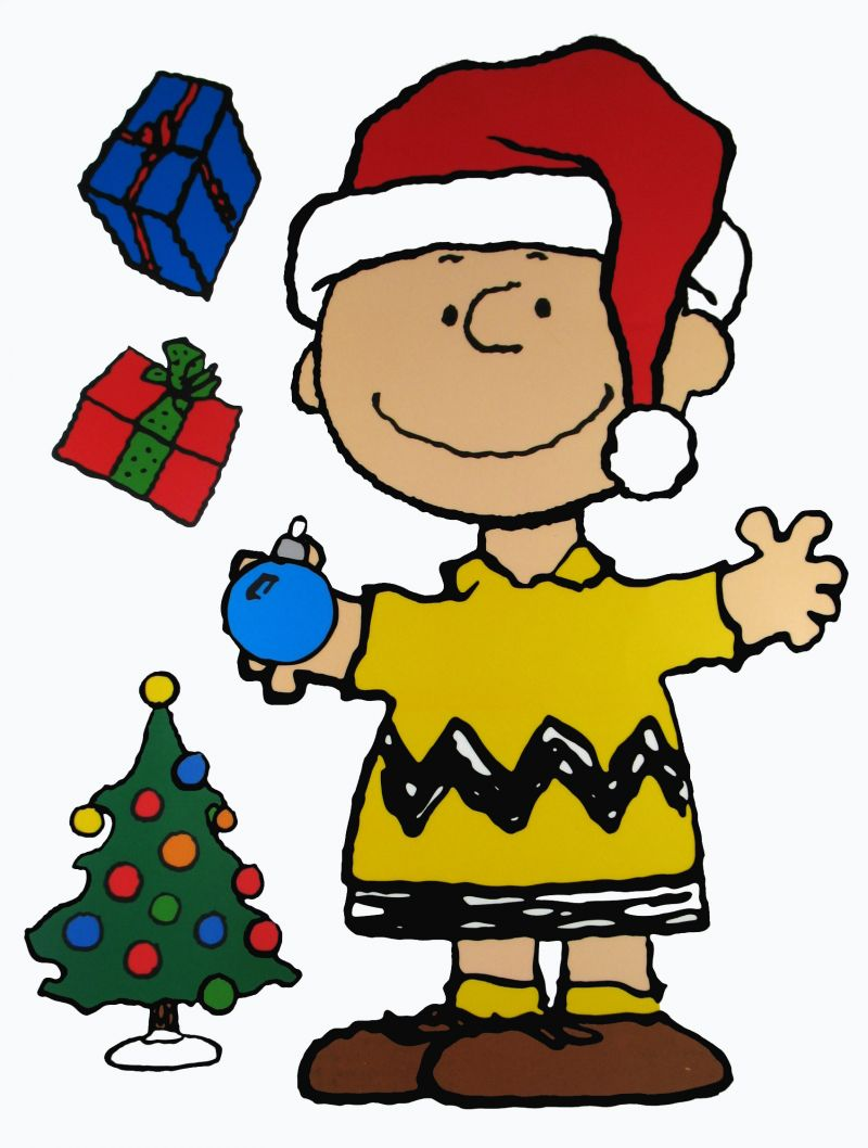 clip art charlie brown christmas tree