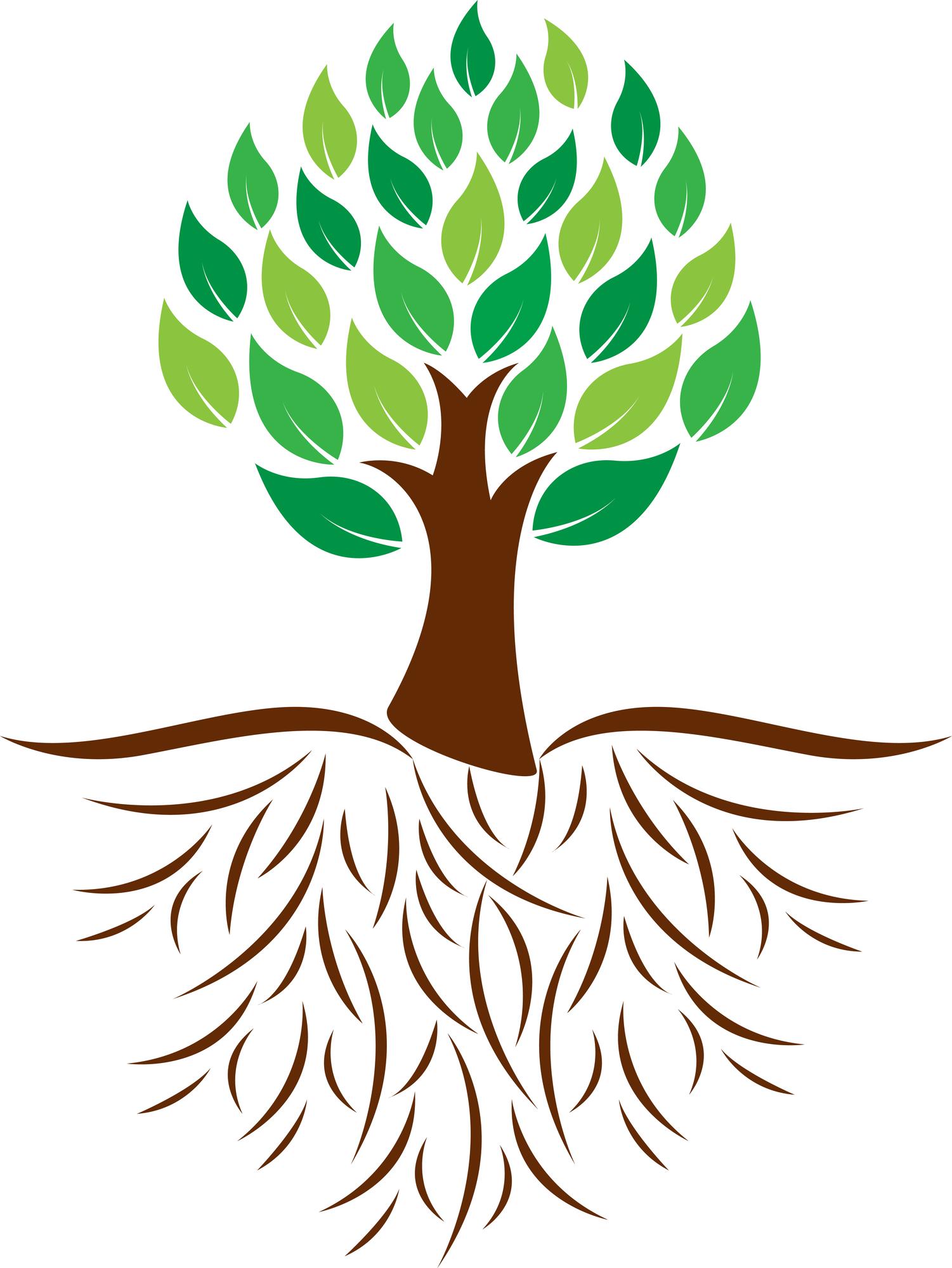 45 Roots Clip Art