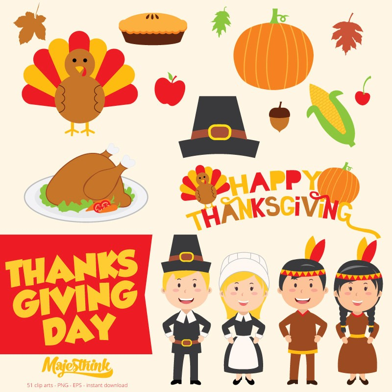 Clip Art 2015 Thanksgiving DAY .