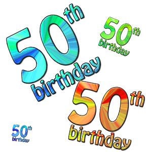 Clip Art 50th Birthday Clipart Best-Clip Art 50th Birthday Clipart Best-0
