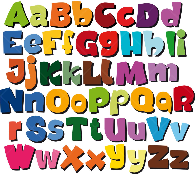 ... Clip art alphabet letters
