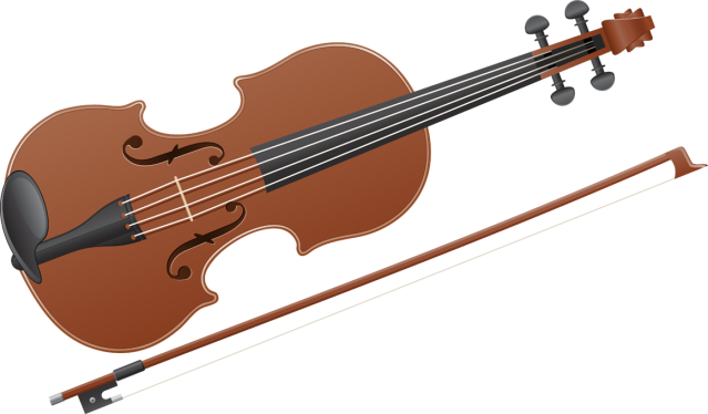 Clip Art And Information About The Violi-Clip Art and information about the Violin-1