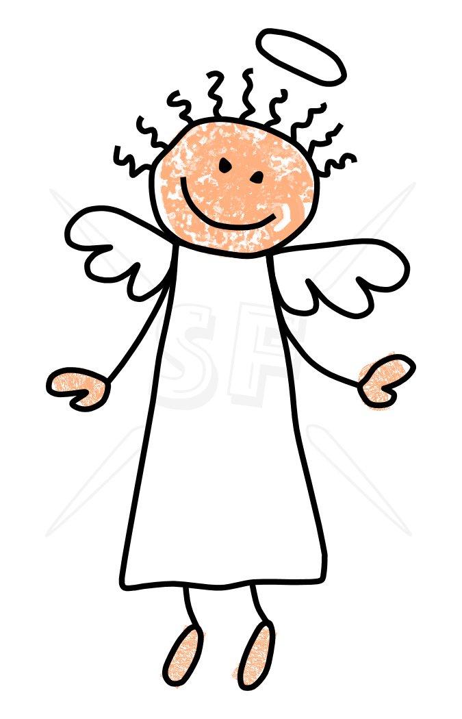 Clip art angel