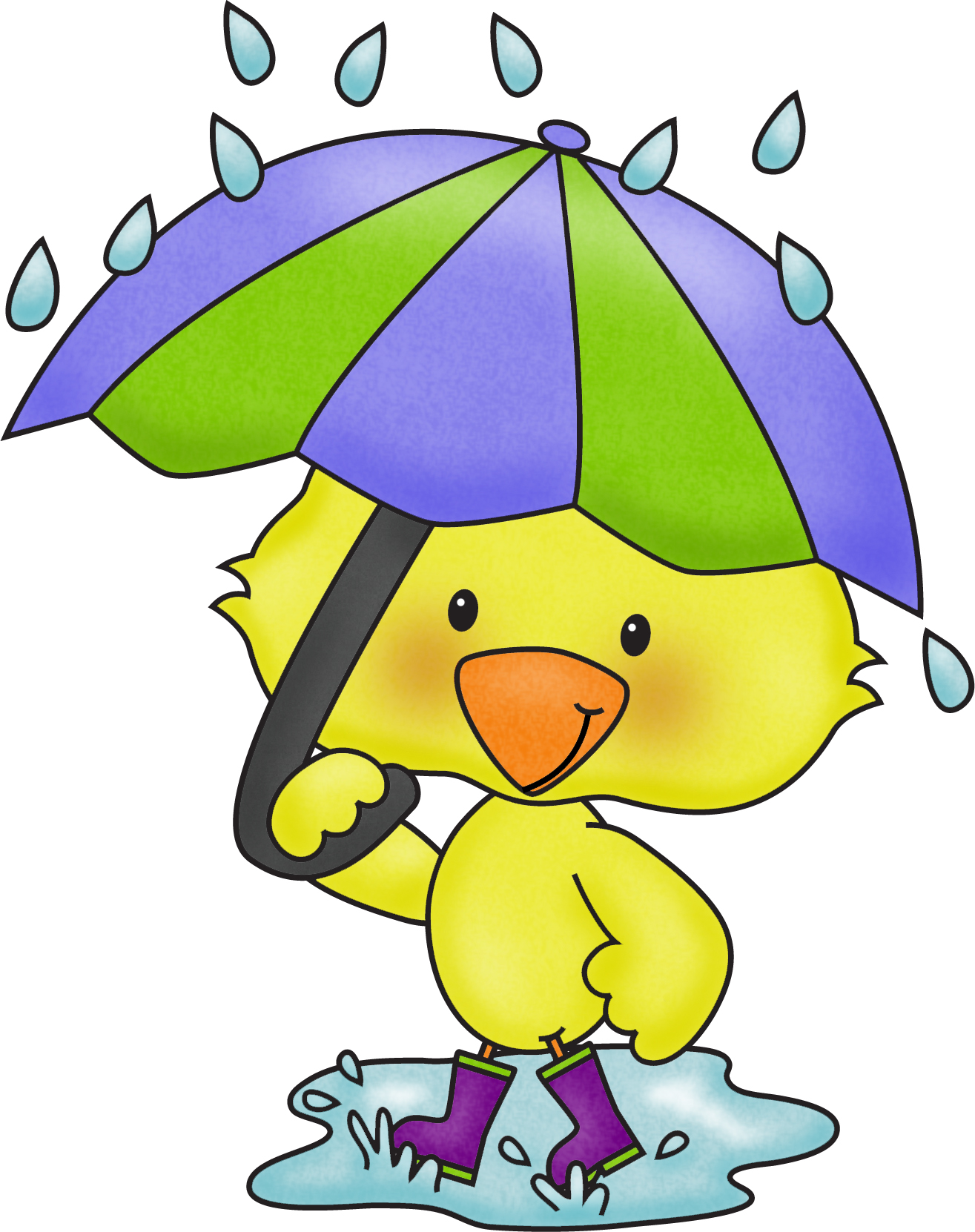 Clip Art. April Showers ... April_AprilS-Clip Art. April Showers ... April_AprilShowers.jpg-14