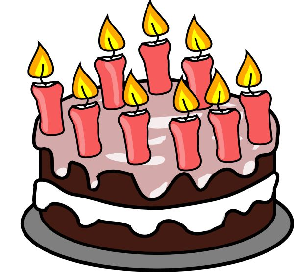 Clip Art, Art Birthday Cake .-Clip art, Art birthday cake .-11