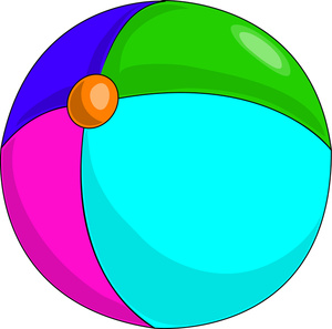 ... Clip art ball ...