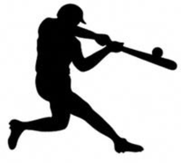 Clip Art Baseball Batter .