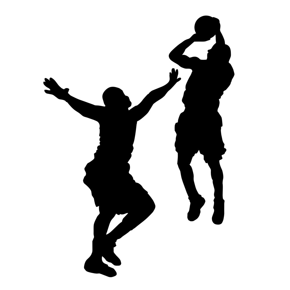 Clip Art Basketball Player Cl - Basketball Player Clip Art