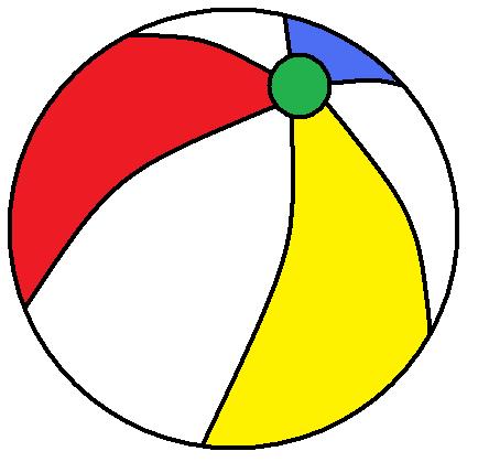 Clip art beach ball image. ae0c6dd7b826262b89d26e19a8cd74 .