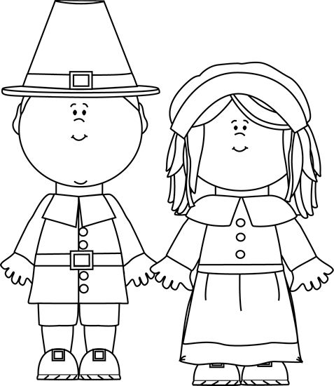 clip art black and white . - Thanksgiving Clip Art Black And White
