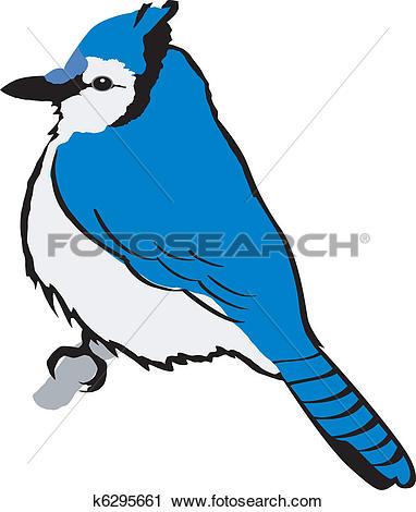 Clip Art. blue jay