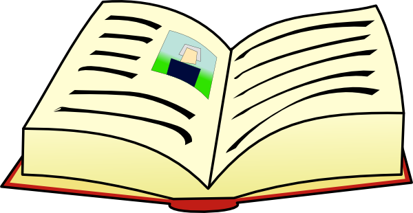 Clip Art Books Reading | Clipart library - Free Clipart Images