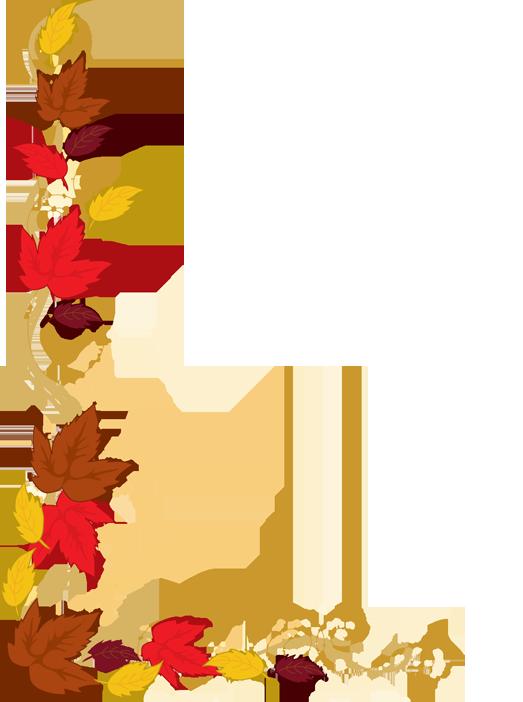 Clip Art Borders Autumn Leave - Border Clip Art Free