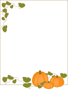 Clip Art Borders Fall Page Borders Micro-Clip Art Borders Fall Page Borders Microsoft Word Thanksgiving Harvest-1