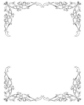 Clip Art Borders Free Wedding 1