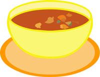 Clip Art Bowl Of Vegetable Soup Clipart Cliparthut Free Clipart