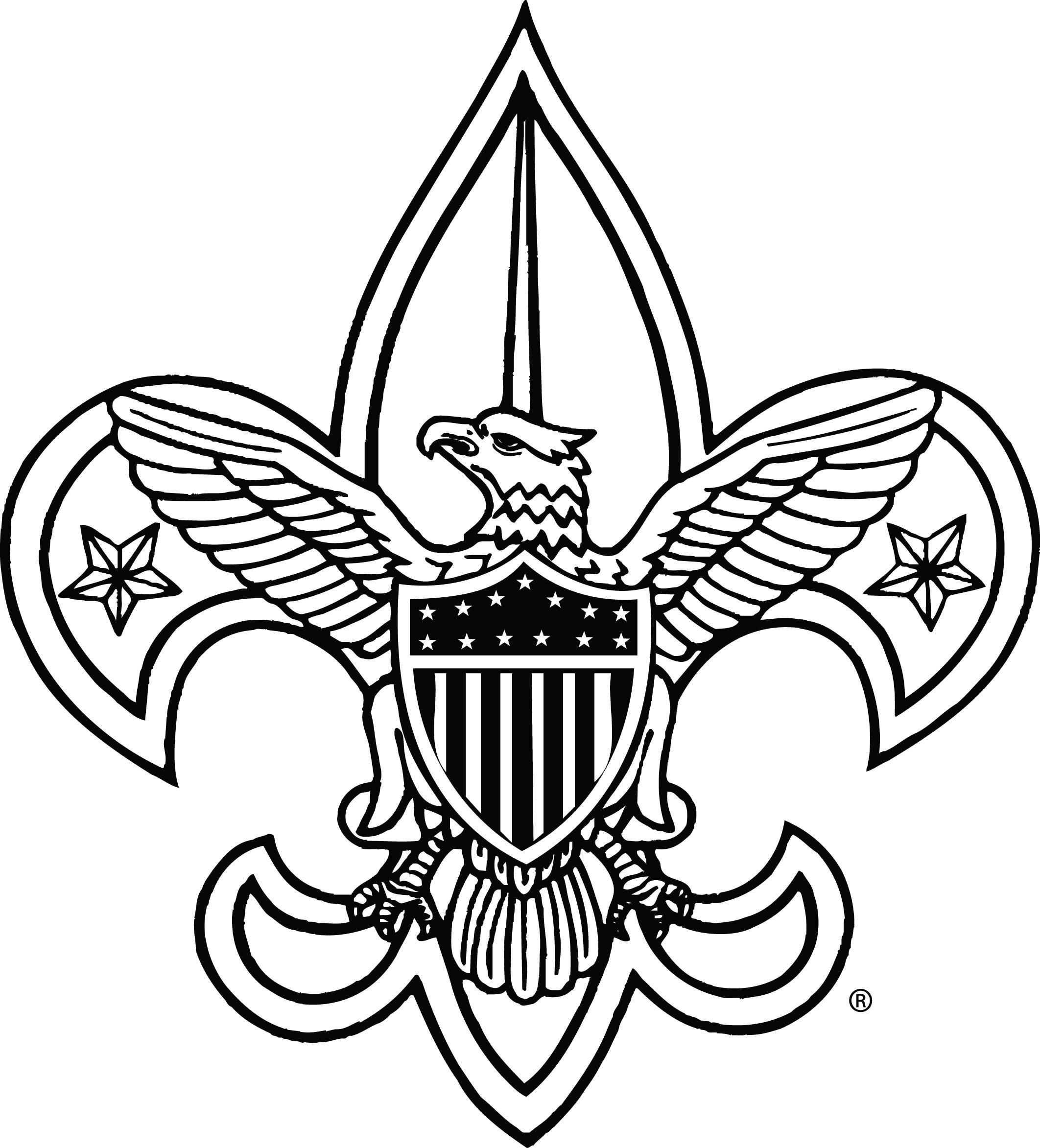 Clip Art Boy Scout Emblem Clipart .