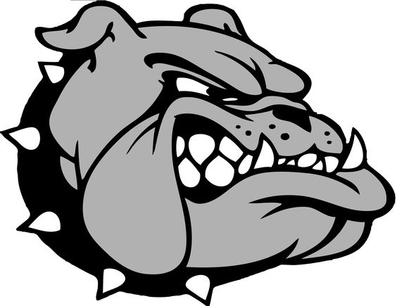 Clip art bulldogs and graphic design on