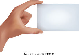 Clip Art Hand Holding Busines