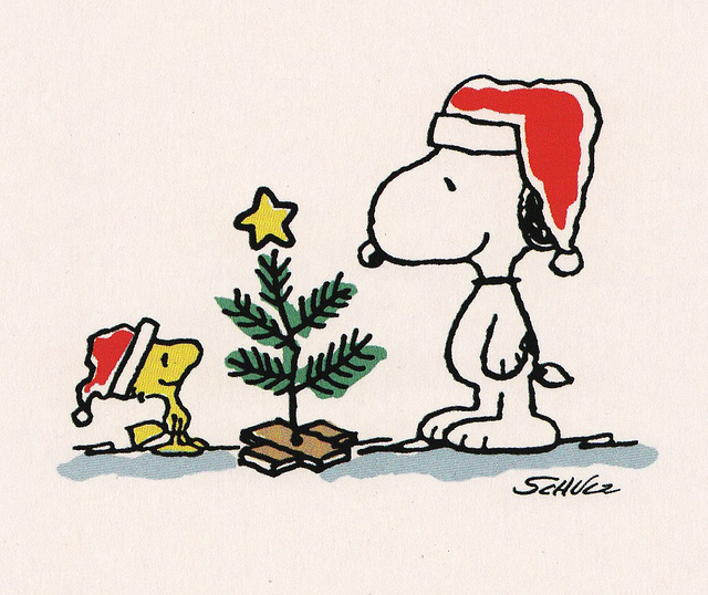 Clip Art Charlie Brown ... Happy Christmas Everyone!