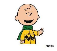 Clip art: Charlie Brown winter