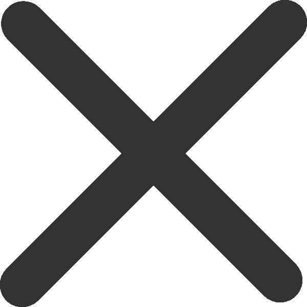 X black. Clip art clipartlook