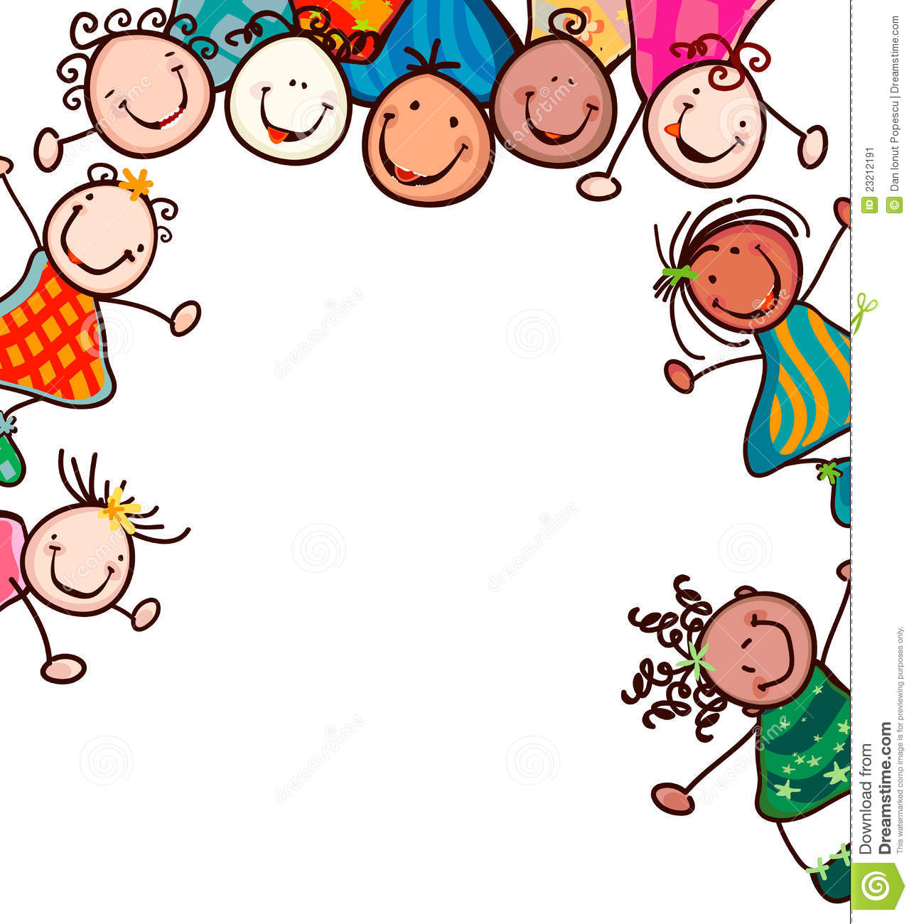 Clip Art, Children Holding .-Clip art, Children holding .-6