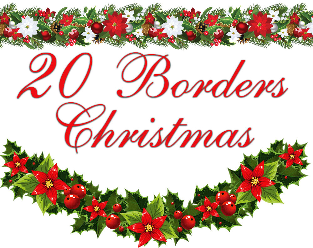 Clip Art Christmas Border Cli - Free Christmas Borders Clipart