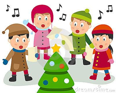 Clip Art Christmas Carol .-Clip Art Christmas Carol .-7